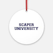 Scaper U Ornament (Round)