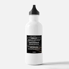 Ability Motivation Attitude Water Bottle
