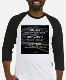 Ability Motivation Attitude Baseball Jersey