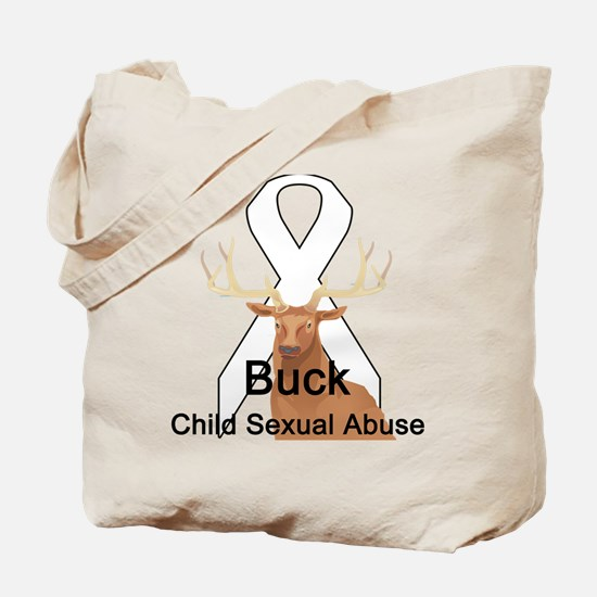 Child Sexual Abuse Tote Bag