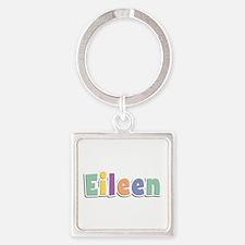 Eileen Spring14 Square Keychain