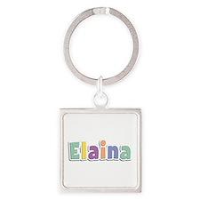 Elaina Spring14 Square Keychain