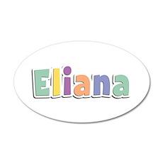 Eliana Spring14 35x21 Oval Wall Decal