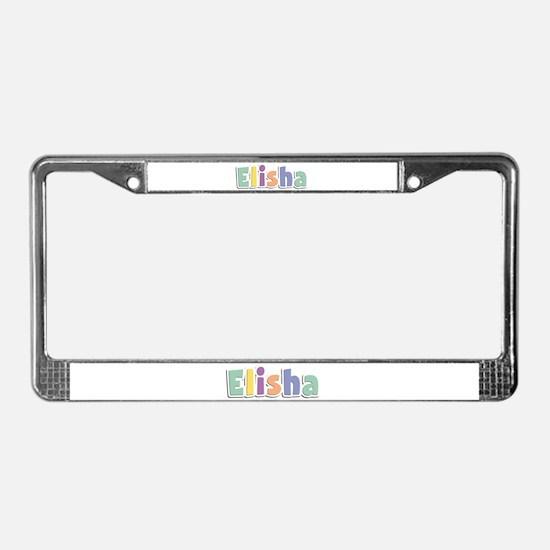 Elisha Spring14 License Plate Frame