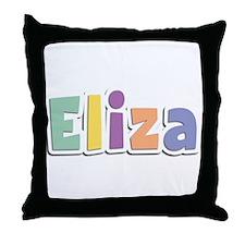 Eliza Spring14 Throw Pillow