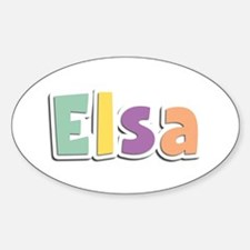 Elsa Spring14 Oval Decal