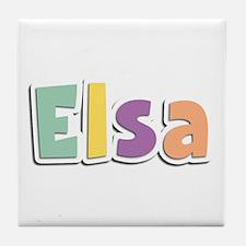 Elsa Spring14 Tile Coaster