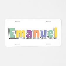 Emanuel Spring14 Aluminum License Plate