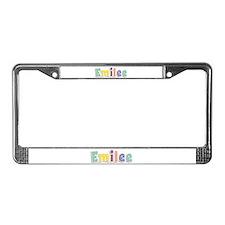 Emilee Spring14 License Plate Frame
