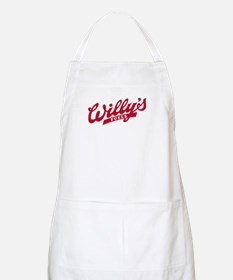 Willys Logo red.png Apron