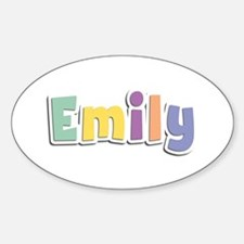 Emily Spring14 Oval Decal