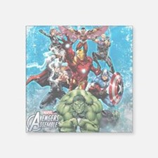 "The Avengers Square Sticker 3"" x 3"""