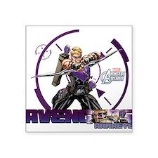 "Hawkeye Square Sticker 3"" x 3"""