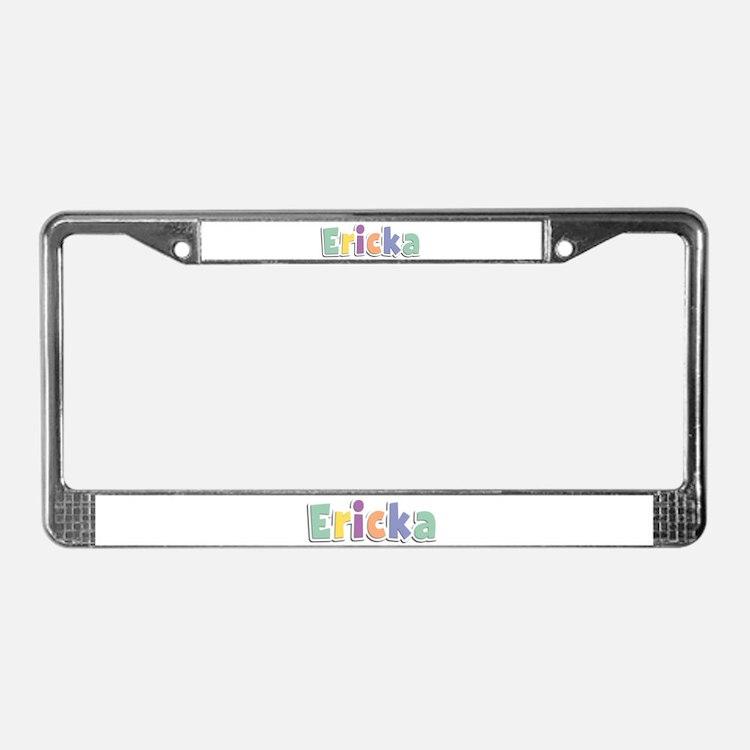 Ericka Spring14 License Plate Frame