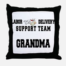 Labor Delivery Support Team Grandma Throw Pillow
