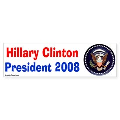 Hillary Clinton 2008 Presidential Seal
