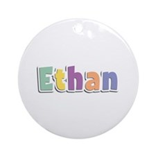 Ethan Spring14 Round Ornament