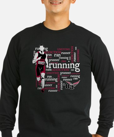 Undying Addcition Running Long Sleeve T-Shirt