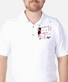 Undying Addcition Running Golf Shirt