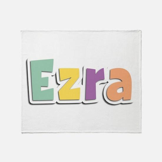 Ezra Spring14 Throw Blanket