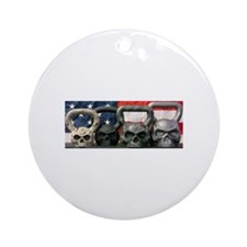 Kettle Bell Ornament (Round)