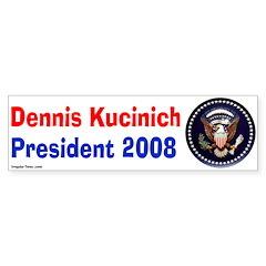 Dennis Kucinich 2008 Presidential Seal
