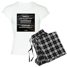 Ability Motivation Attitude Pajamas