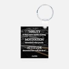 Ability Motivation Attitude Keychains