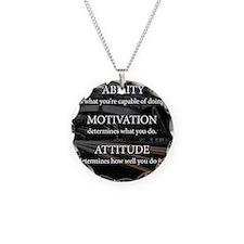 Ability Motivation Attitude Necklace