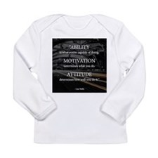 Ability Motivation Attitude Long Sleeve Infant T-S