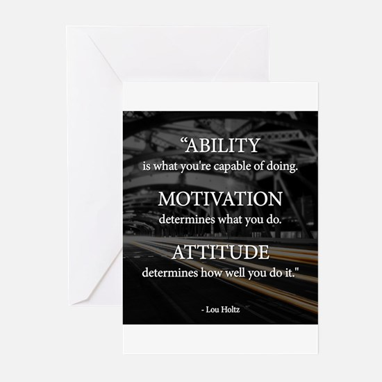 Ability Motivation Attitude Greeting Cards (Pk of