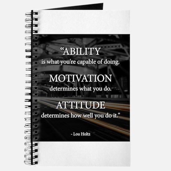 Ability Motivation Attitude Journal