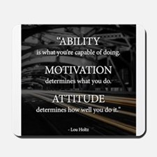 Ability Motivation Attitude Mousepad