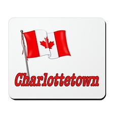 Canada Flag - Charlottetown  Mousepad