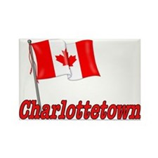 Canada Flag - Charlottetown Rectangle Magnet