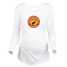 Operation Archer Long Sleeve Maternity T-Shirt