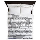 Abraham lincoln Queen Duvet Covers
