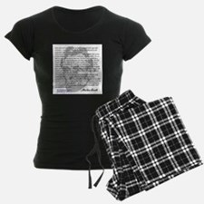 Gettysburg Address Pajamas