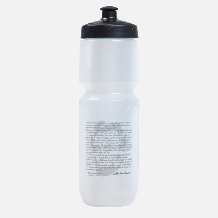 Gettysburg Address Sports Bottle