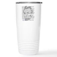 Gettysburg Address Travel Mug