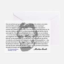 Gettysburg Address Greeting Cards (Pk of 10)