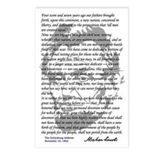 Gettysburg Address Postcards (Package of 8)