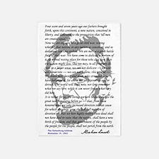 Gettysburg Address 5'x7'Area Rug