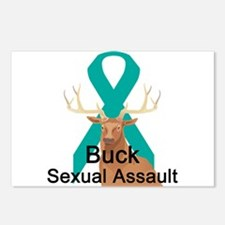Sexual Assault Postcards (Package of 8)