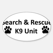 Cute Search Sticker (Oval)