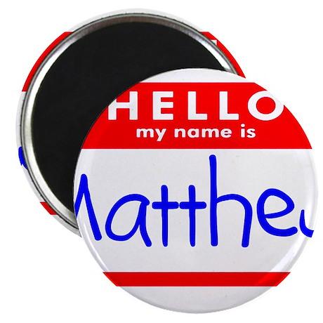 """MATTHEW 2.25"""" Magnet (10 pack)"""