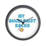 OVARIAN CANCER TEAL Wall Clock