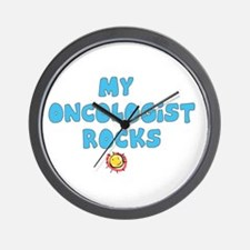 OVARIAN CANCER TEAL Wall Clock
