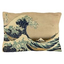 Japanese Great Waves Pillow Case