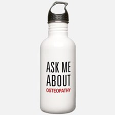 Ask Me About Osteopathy Water Bottle